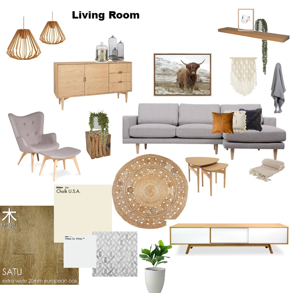 lounge Room Mood Board by SarahClose on Style Sourcebook