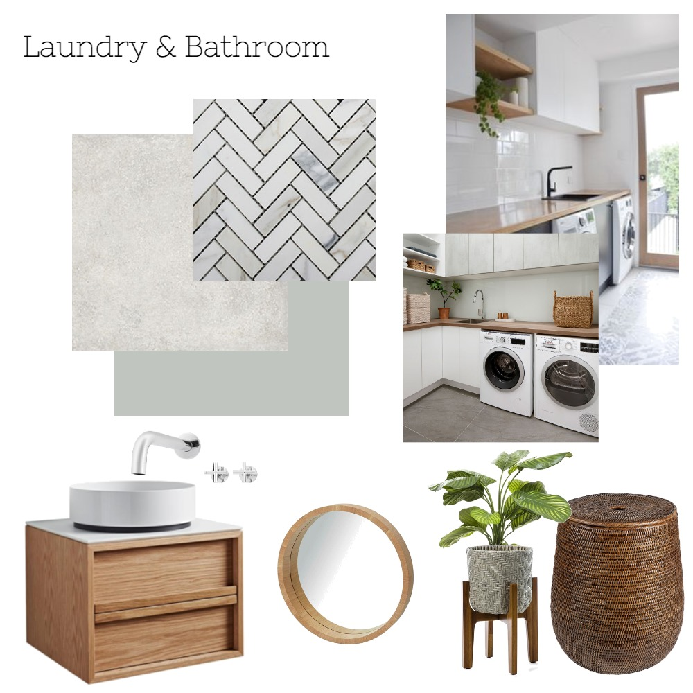 Laundry Mood Board by catdarrach on Style Sourcebook
