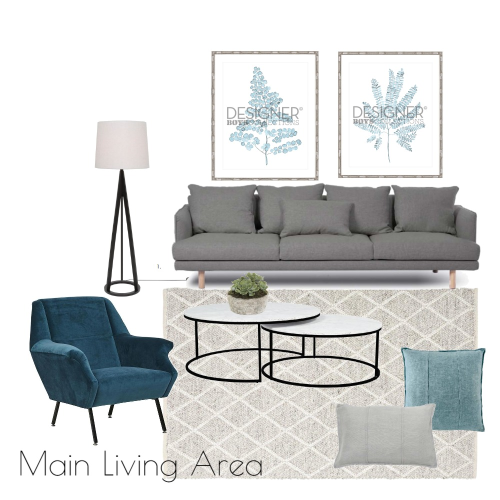 KINGSGROVE MAIN LIVING Mood Board by Bates on Style Sourcebook