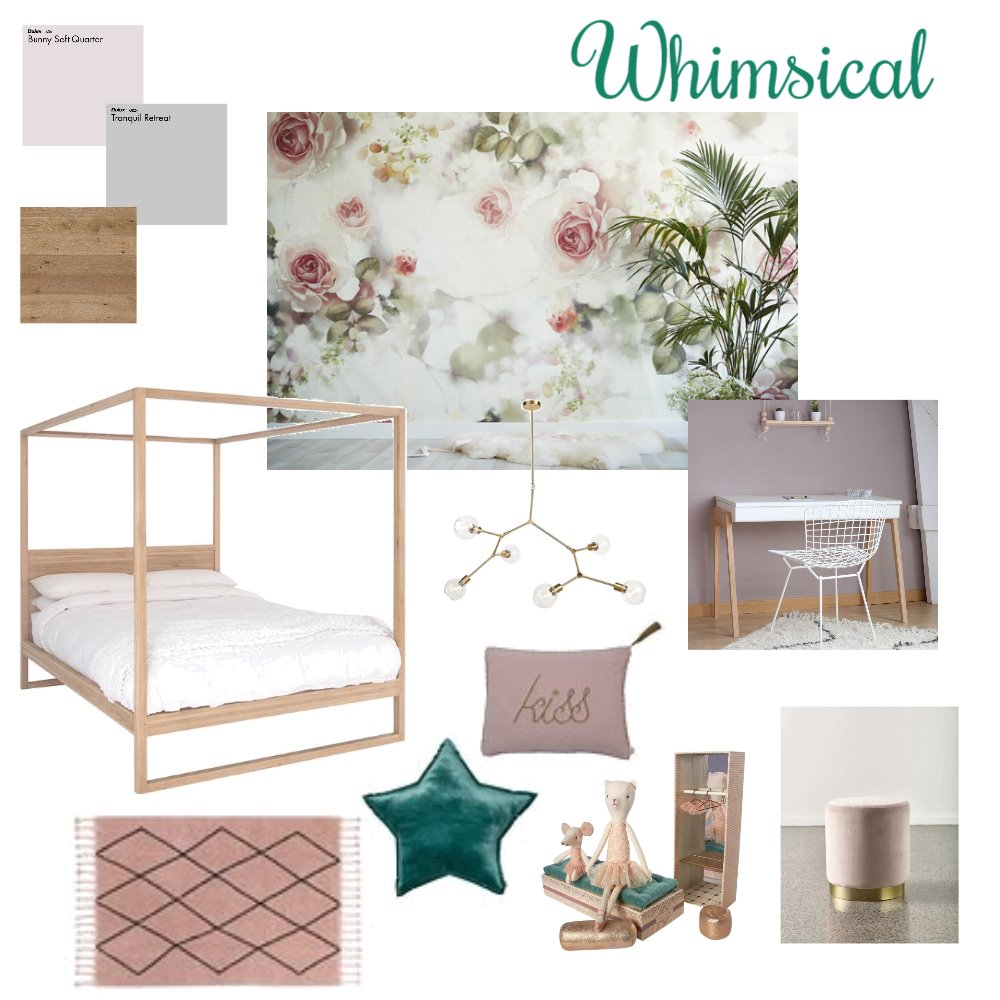 Girls Room Mood Board by honorgrace on Style Sourcebook