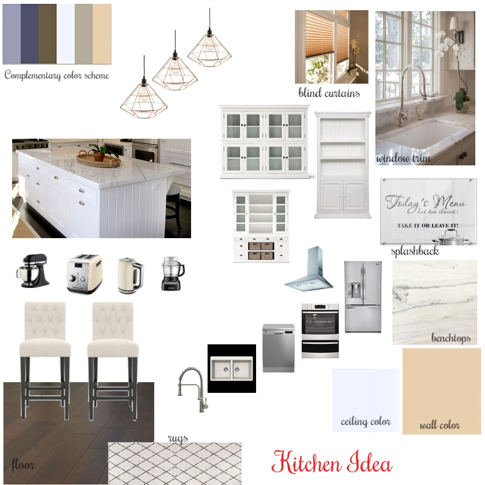 Kitchen Mood Board Mood Board by Artemisaz on Style Sourcebook