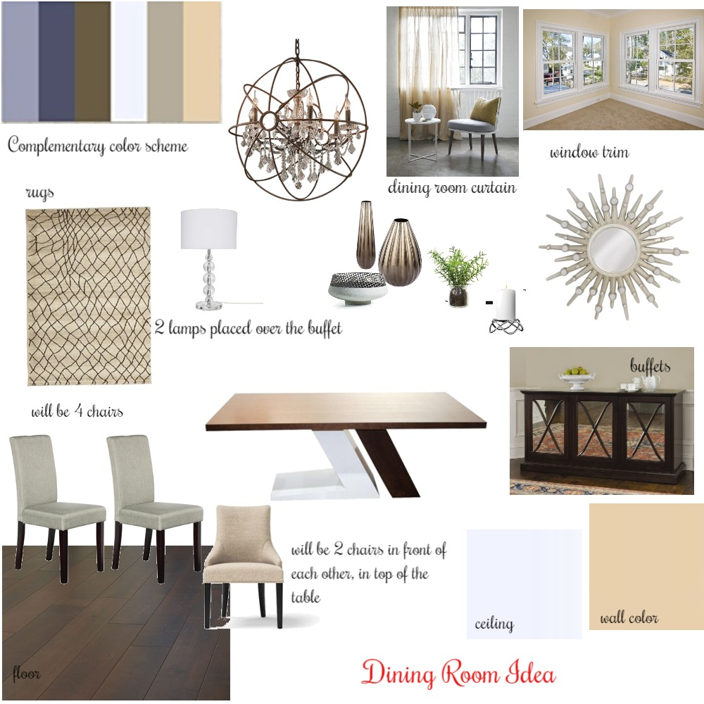 Dining Room Mood Board Mood Board by Artemisaz on Style Sourcebook