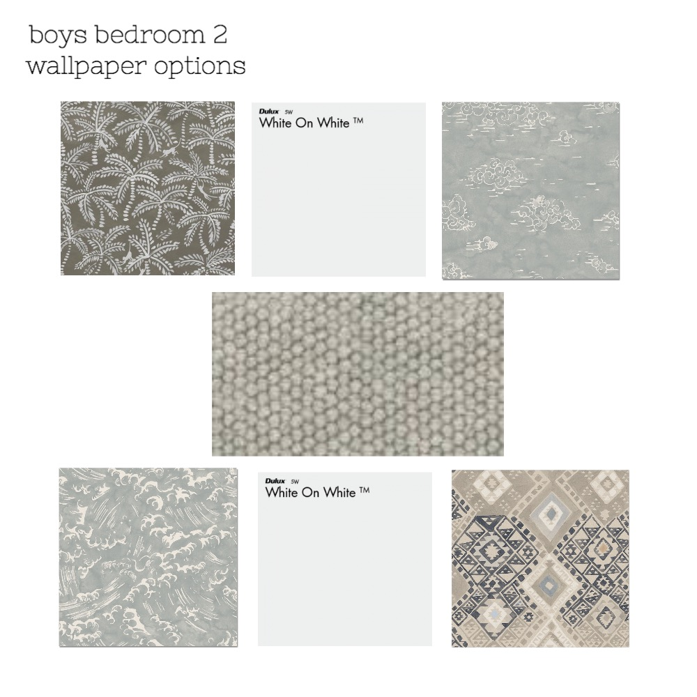 wallpaper options bed 2 Mood Board by The Secret Room on Style Sourcebook