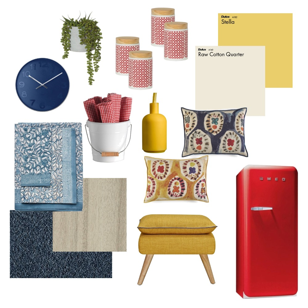 Bright and Bold Interior Design Mood Board by Choices Flooring on Style Sourcebook