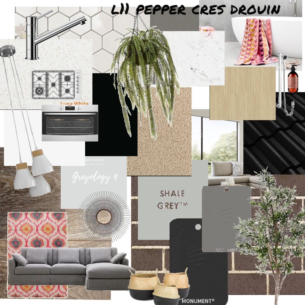Pepper Crescent Interior Design Mood Board by Marlowe Interiors on Style Sourcebook