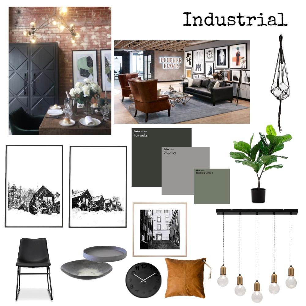 Industrial Mood Board by Elise on Style Sourcebook