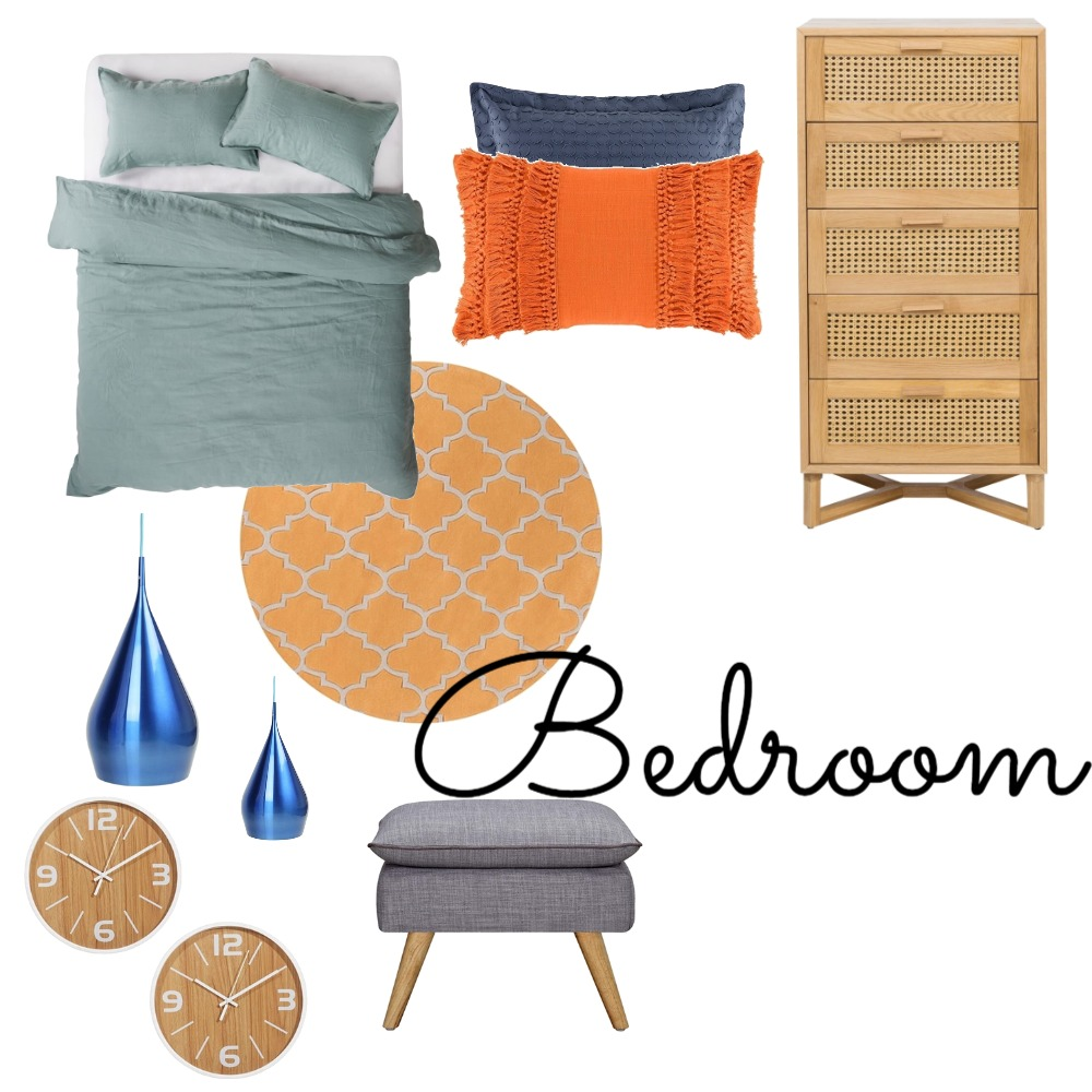 Guest Bedroom.1 Interior Design Mood Board by Rebecaalee93 on Style Sourcebook