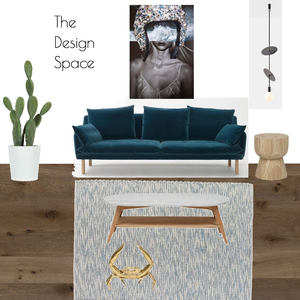 Luxe Living Room Interior Design Mood Board by TheDesignSpace on Style Sourcebook