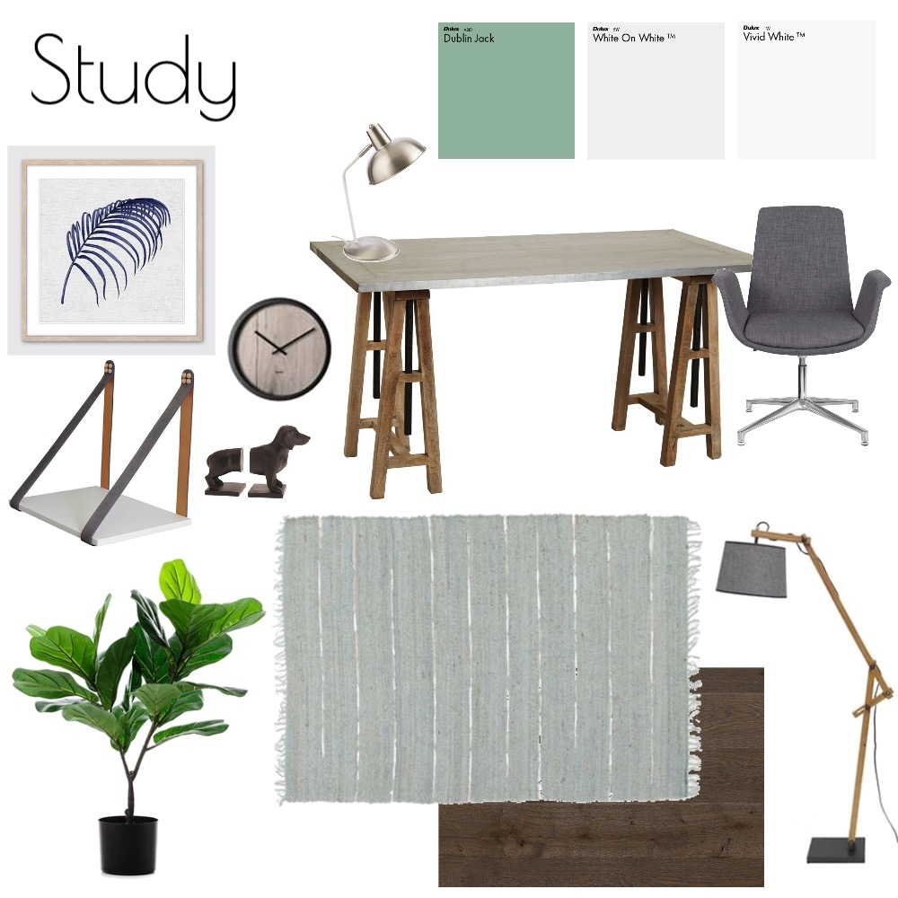 Study Mood Board by nicolebackman on Style Sourcebook