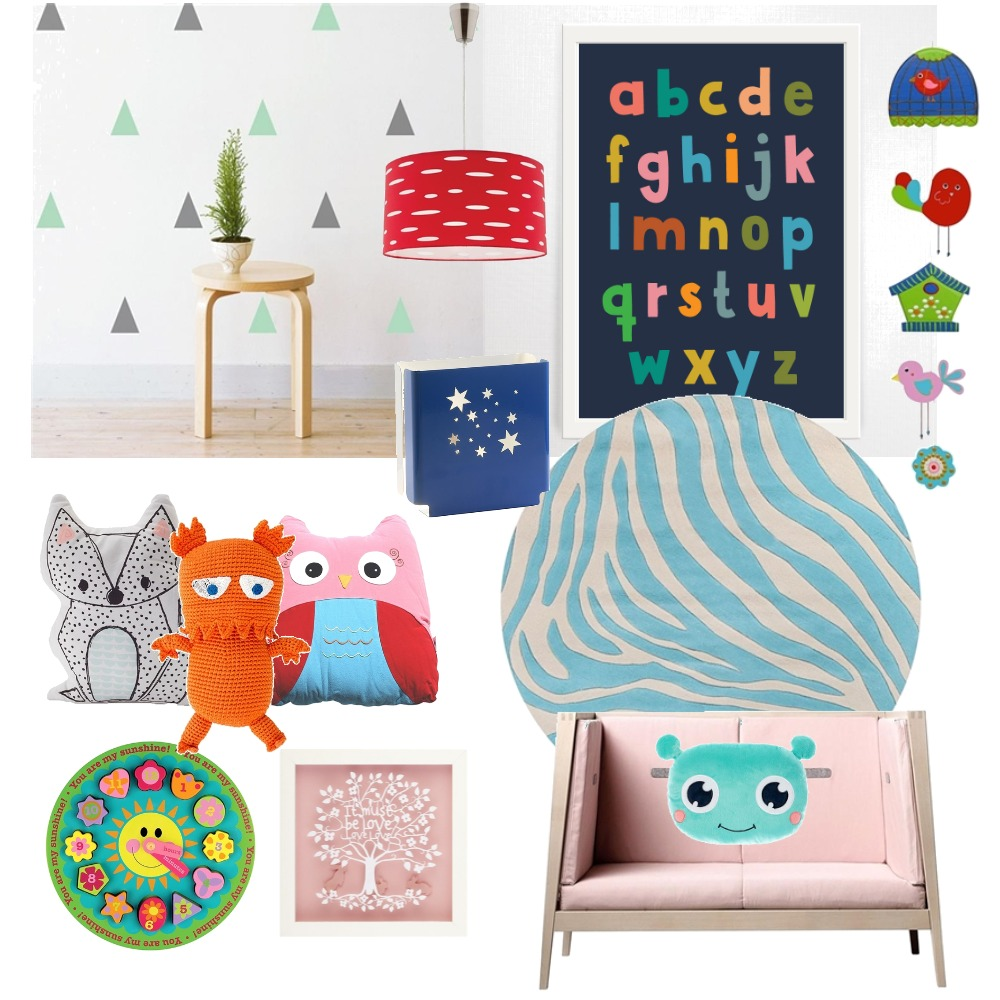 kiddo Mood Board by pebbykins on Style Sourcebook