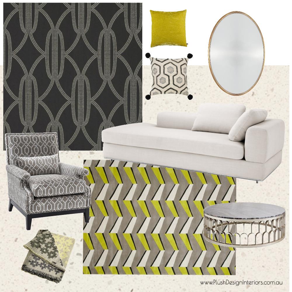 Serina - Elegant Salon #1 Mood Board by Plush Design Interiors on Style Sourcebook
