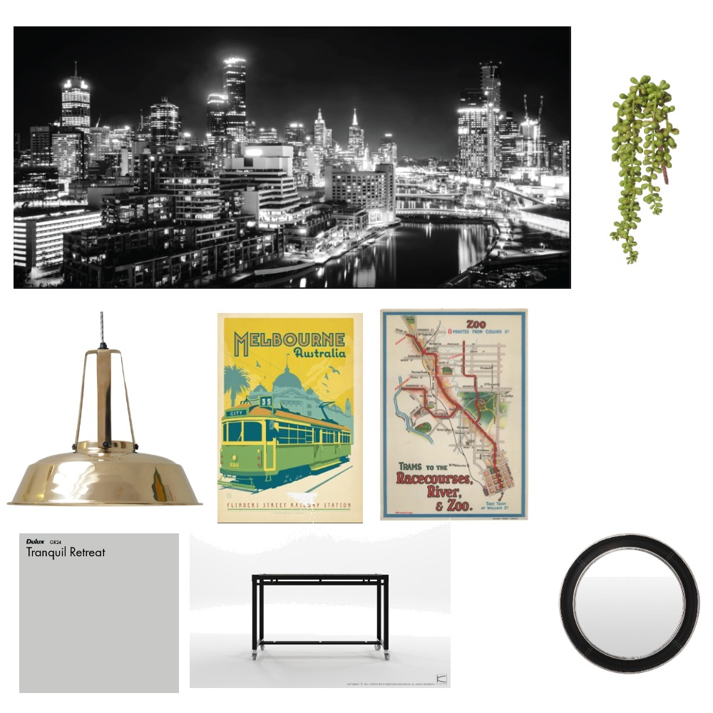 city Mood Board by Elise on Style Sourcebook