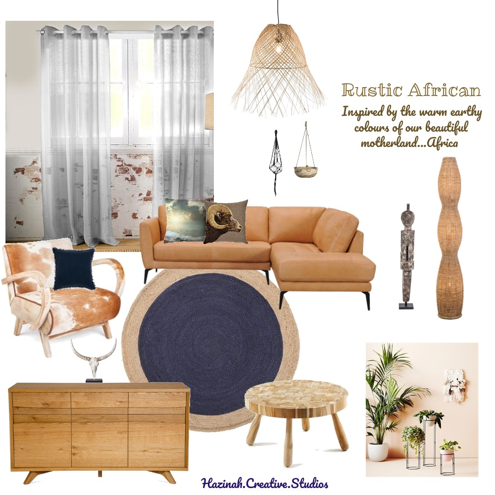 Rustic African Mood Board by Gugz on Style Sourcebook