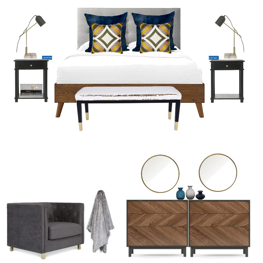 walnut bedroom Mood Board by l3home on Style Sourcebook