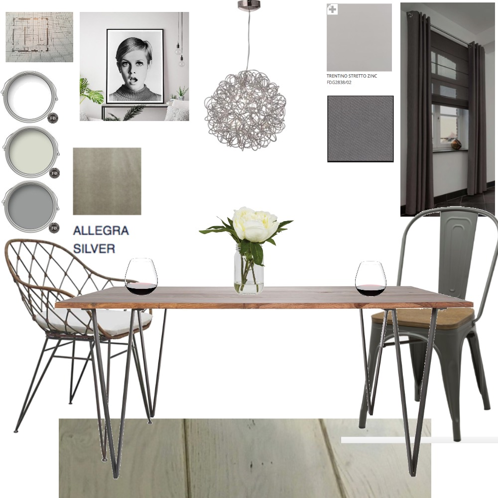 Industrial/eclectic Dining Room Interior Design Mood Board by LMH Interiors on Style Sourcebook
