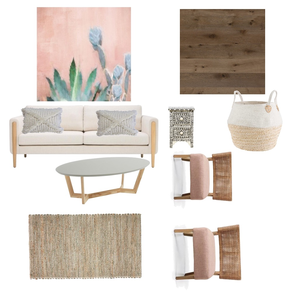 Boho chic living room Mood Board by Tiannamarie on Style Sourcebook