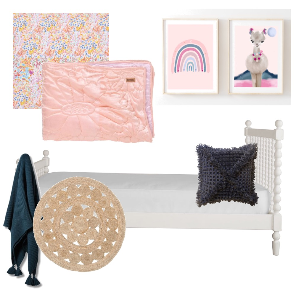 Girls room Mood Board by NarinB on Style Sourcebook