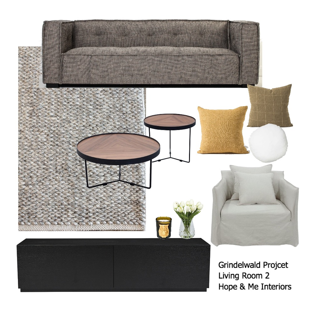 Grindelwald Project - Living Room 2 Mood Board by Hope & Me Interiors on Style Sourcebook