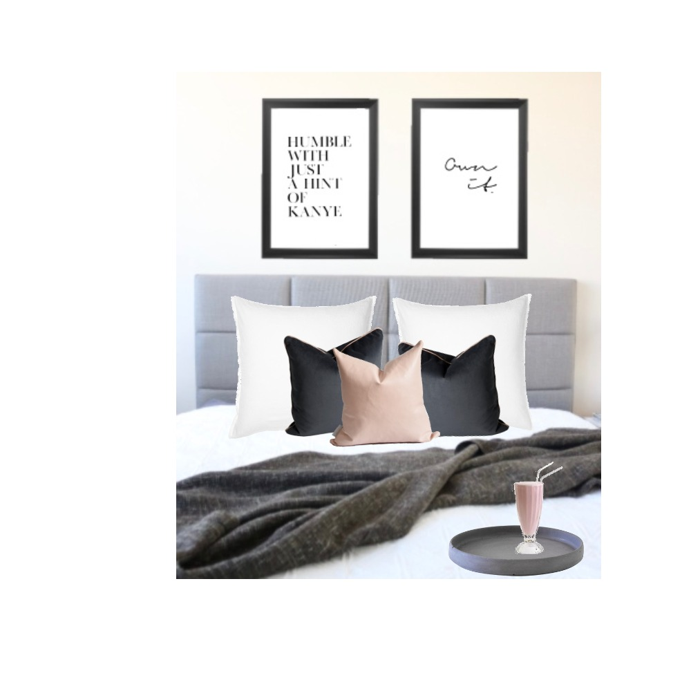bed Interior Design Mood Board by ZIINK on Style Sourcebook