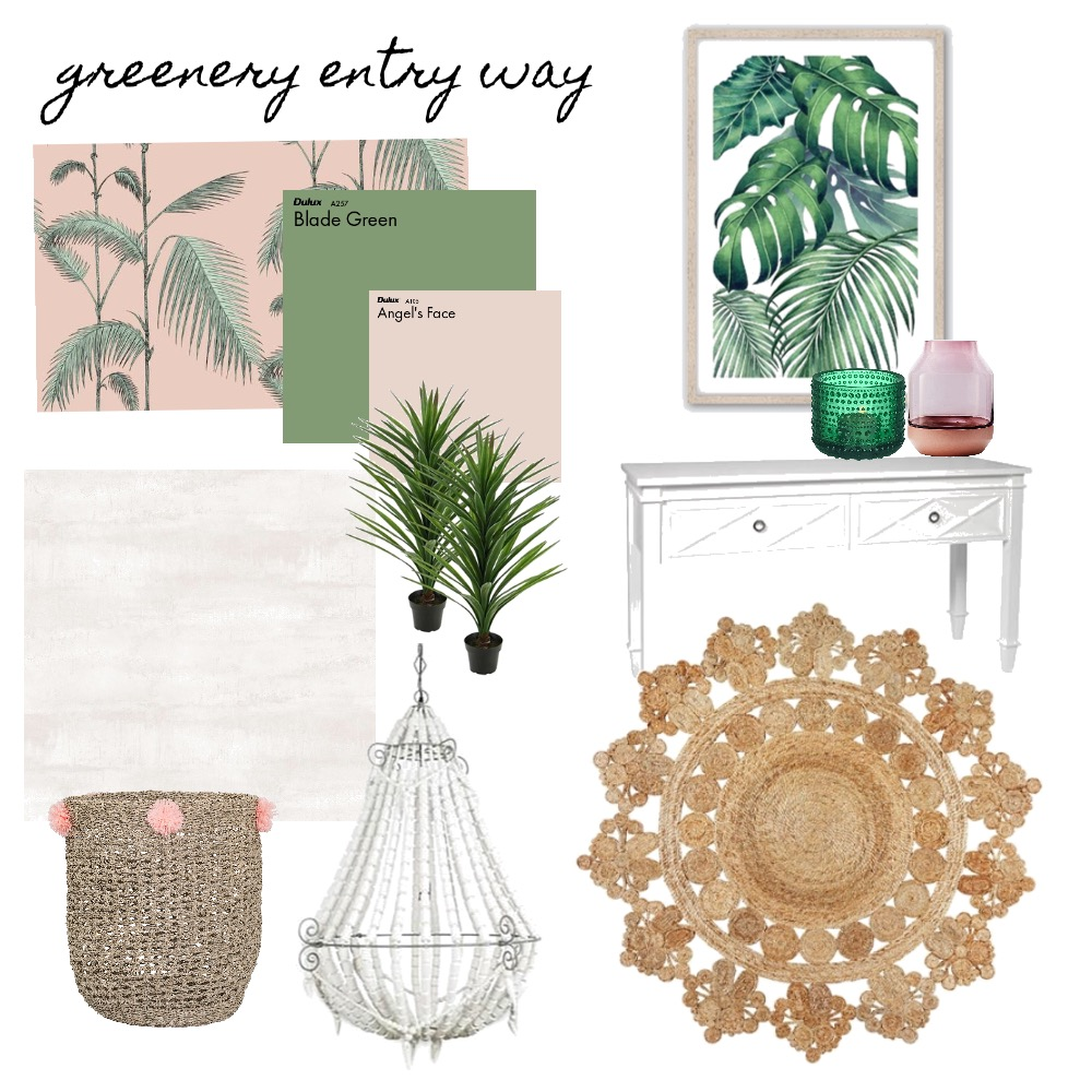 Greenery entry way Mood Board by Tiannamarie on Style Sourcebook