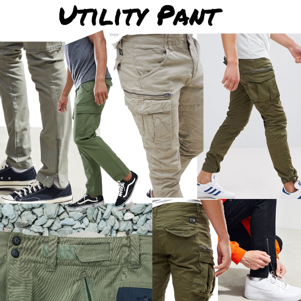 Utility Pant Mood Board by snoobabsy on Style Sourcebook