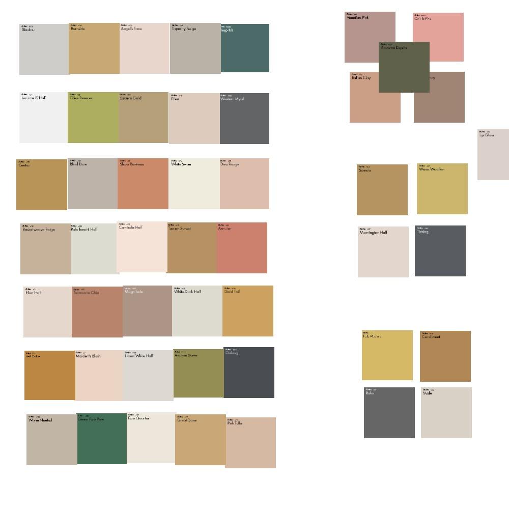 Blog Color Palette Mood Board by hannahlarose on Style Sourcebook