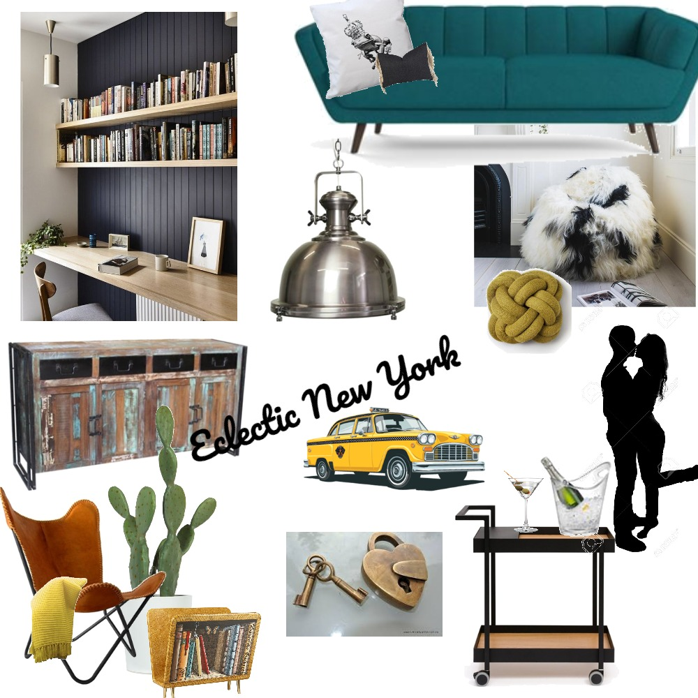 New York Mood Board by melzrio on Style Sourcebook