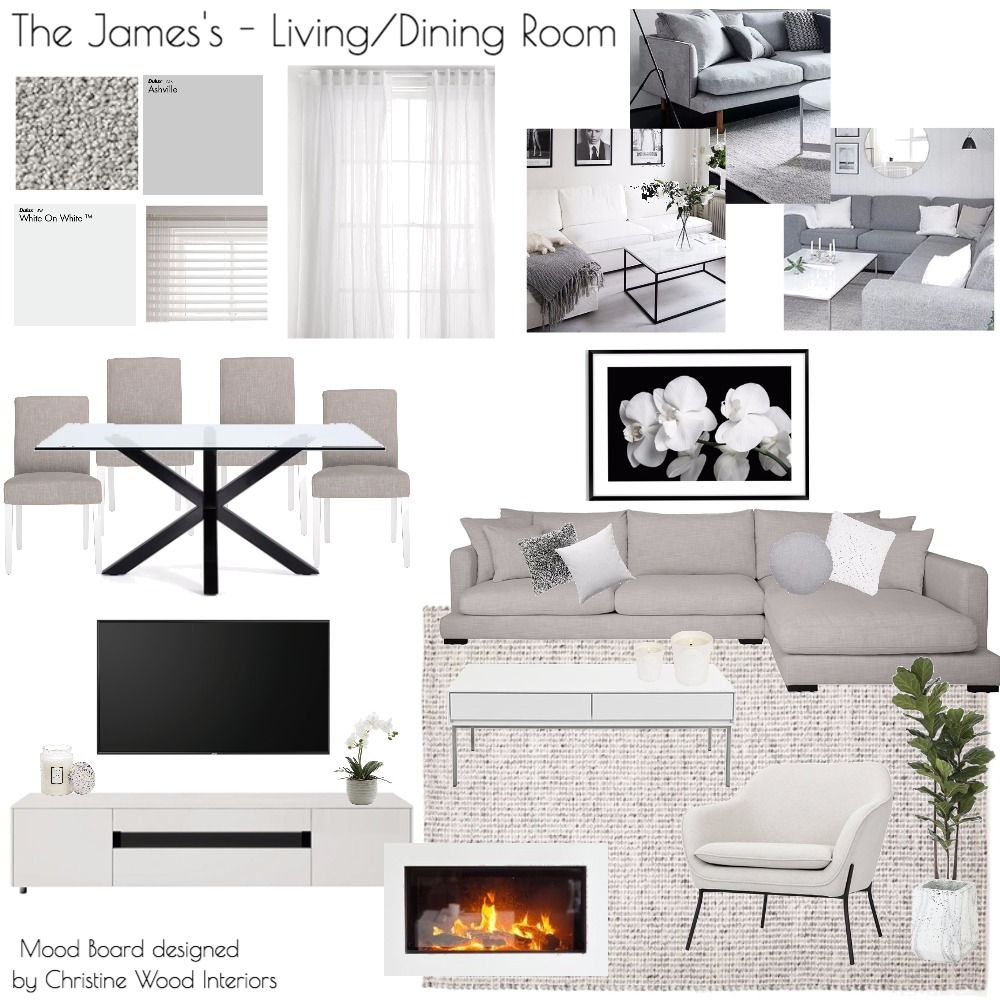 James Living Room Project Mood Board by ChampagneAndCoconuts on Style Sourcebook