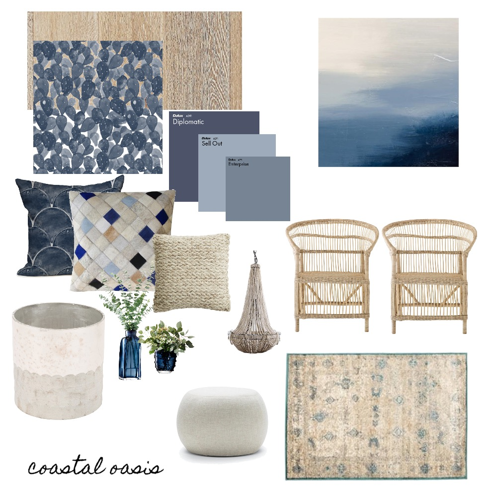 Costal oasis Mood Board by Tiannamarie on Style Sourcebook