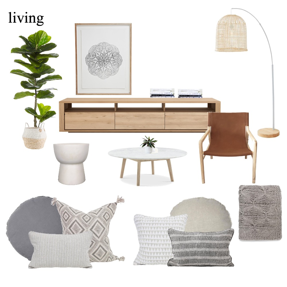 jules - living Mood Board by The Secret Room on Style Sourcebook
