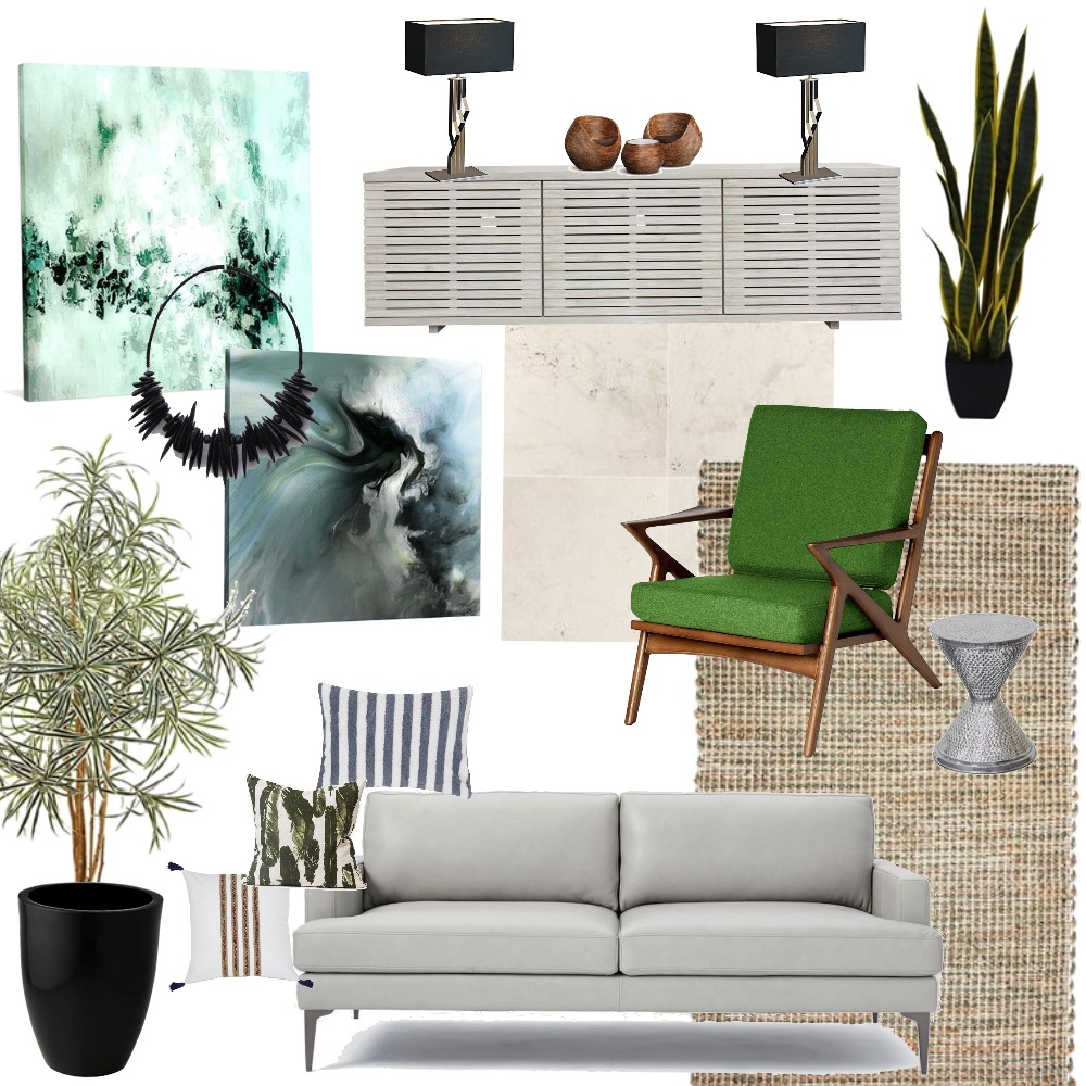 living space w Mood Board by quinidesign on Style Sourcebook