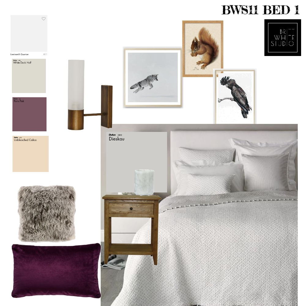 BSII - Bed1 Mood Board by britthwhite on Style Sourcebook