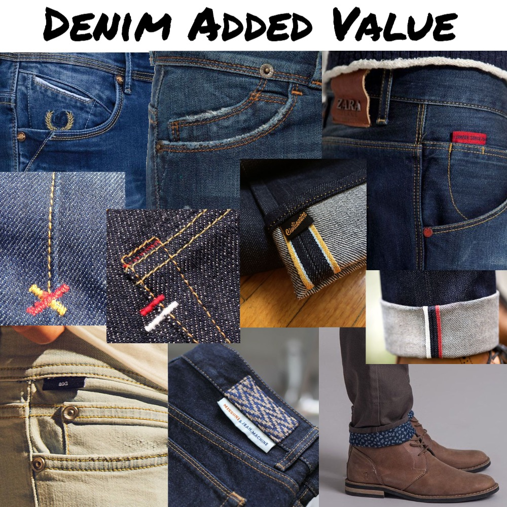Denim Added Value Mood Board by snoobabsy on Style Sourcebook