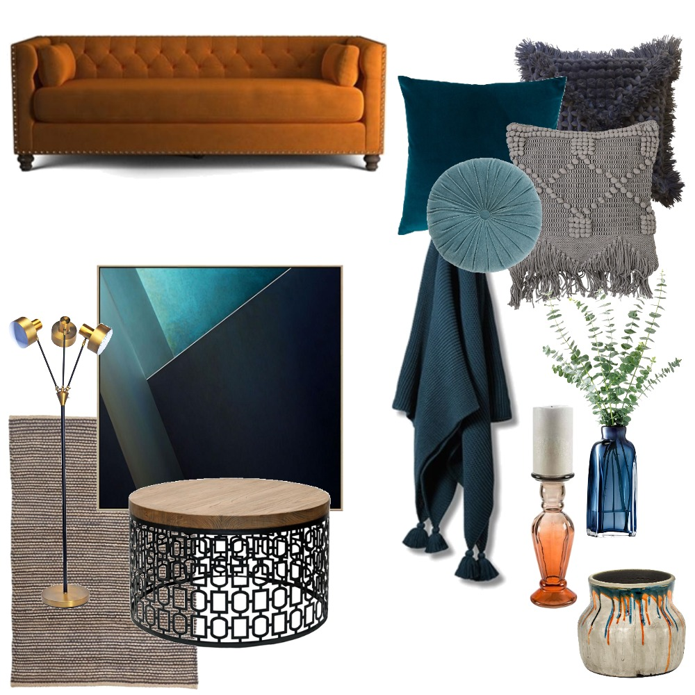 Warm Mood Board by StatementInteriors on Style Sourcebook