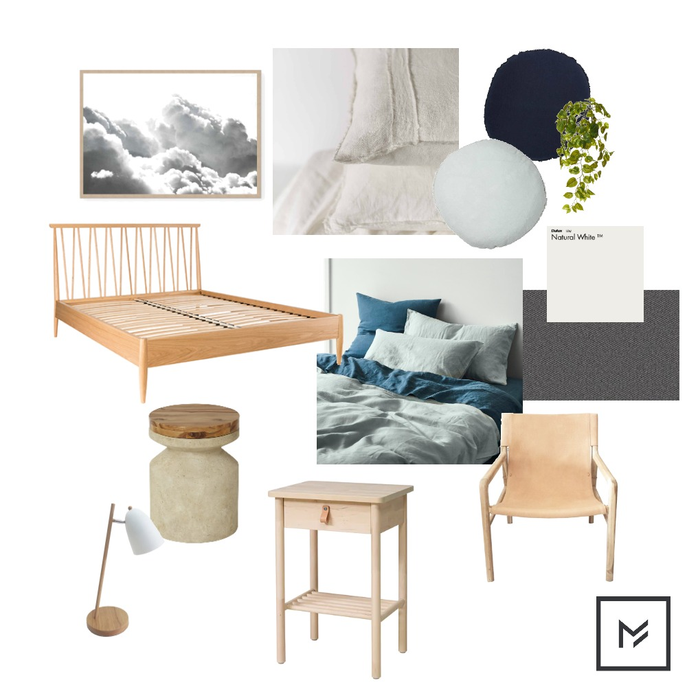 Dale & Cassie Bedroom Mood Board by Modehire on Style Sourcebook