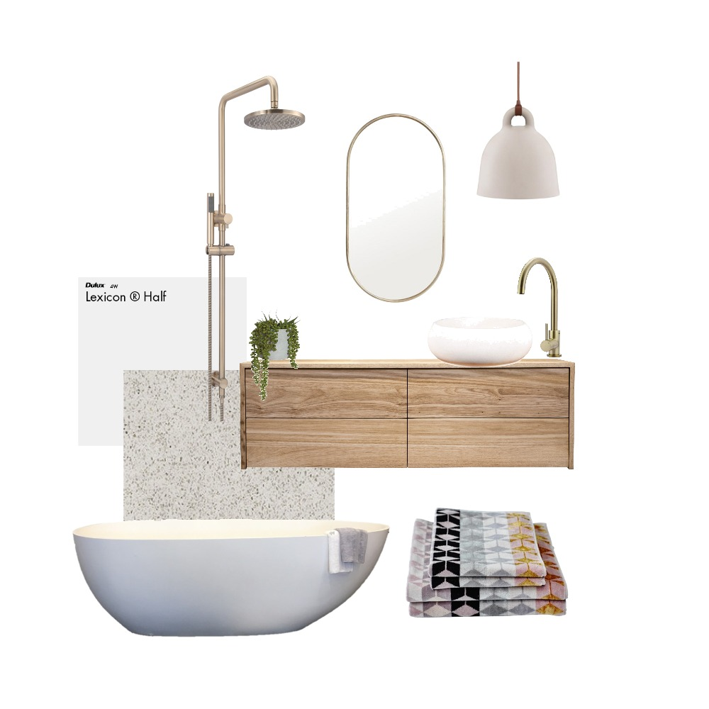 bathroom blush Mood Board by Hunter Style Collective on Style Sourcebook