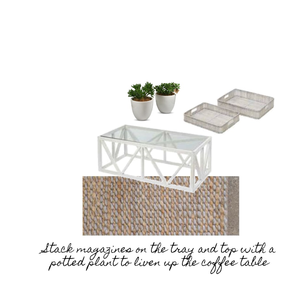 Hamptons Coffee Table Styling Mood Board by GeorgeieG43 on Style Sourcebook