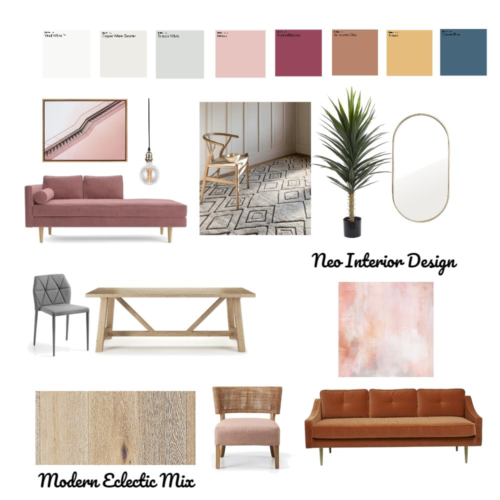 Mills Inspirational Mood Board Mood Board by Neo Interior Design Perth on Style Sourcebook