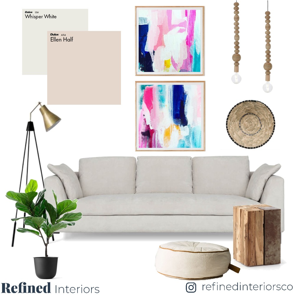 Lounge 03 Mood Board by RefinedInteriors on Style Sourcebook