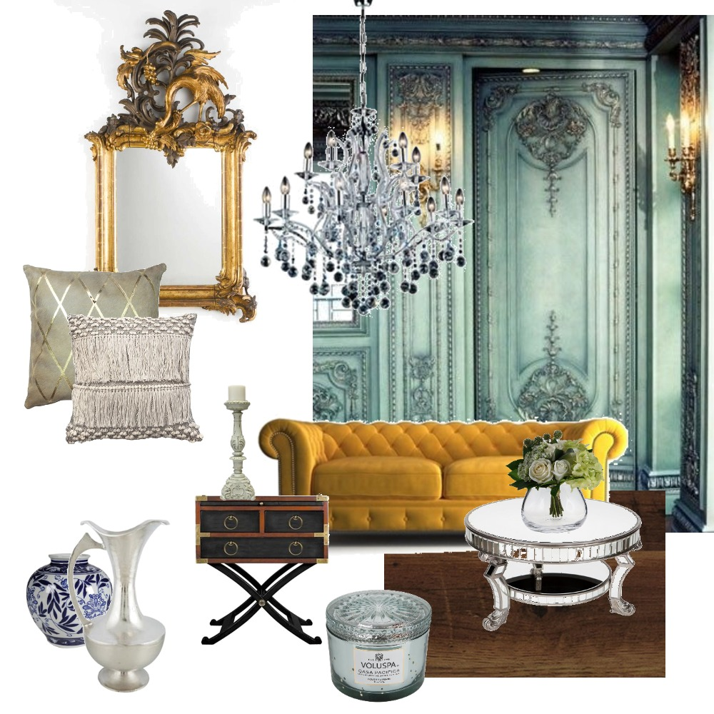 rococo Interior Design Mood Board by decomatters on Style Sourcebook