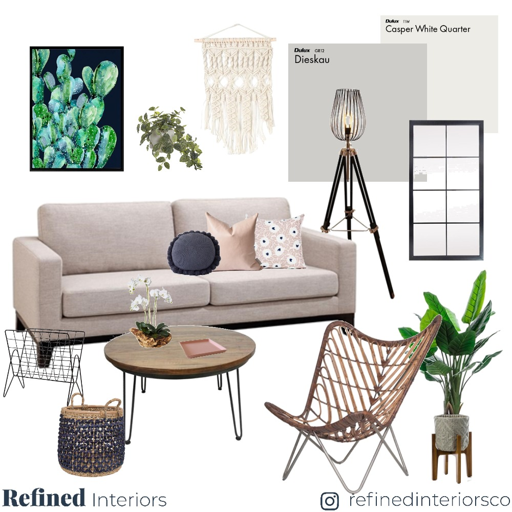 Living Room 04 Mood Board by RefinedInteriors on Style Sourcebook