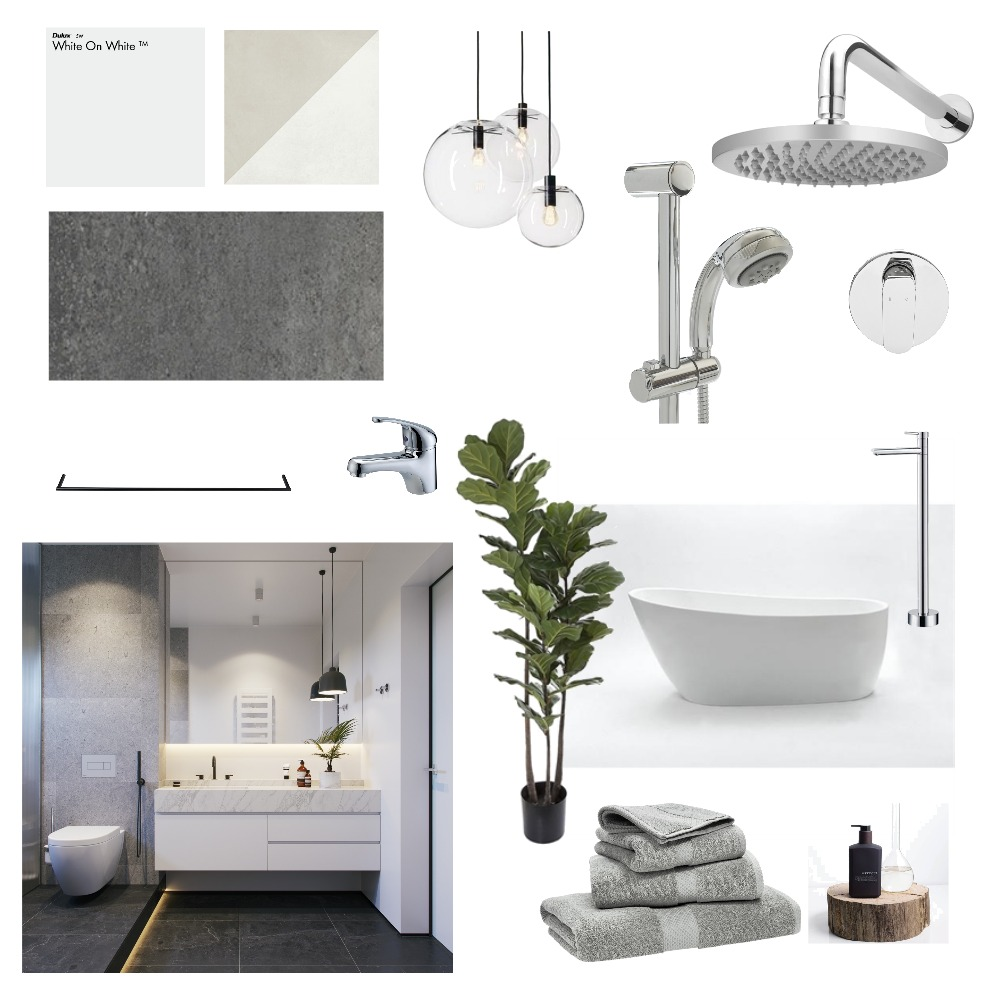 Bathroom Mood Board by Khouphan on Style Sourcebook