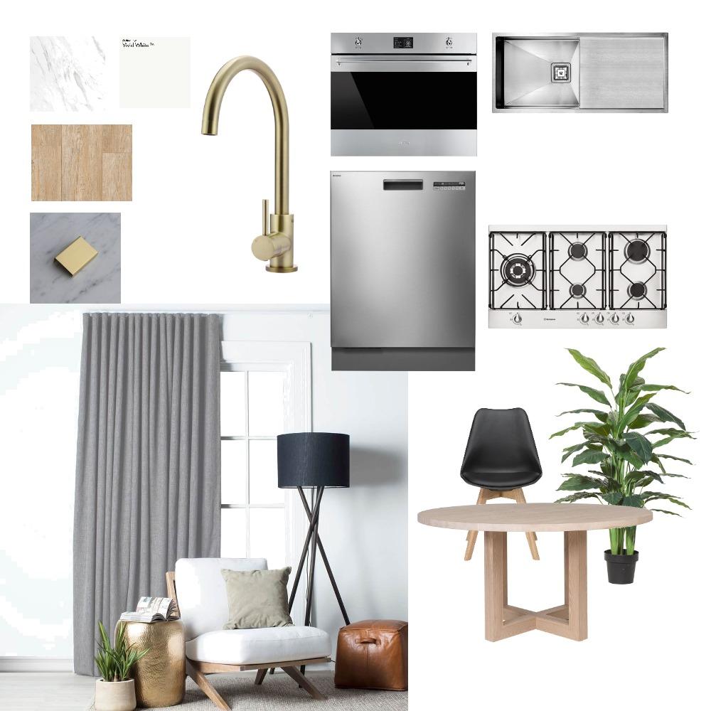 Kitchen Dining Brass Manutahi Interior Design Mood Board by denanabonana on Style Sourcebook