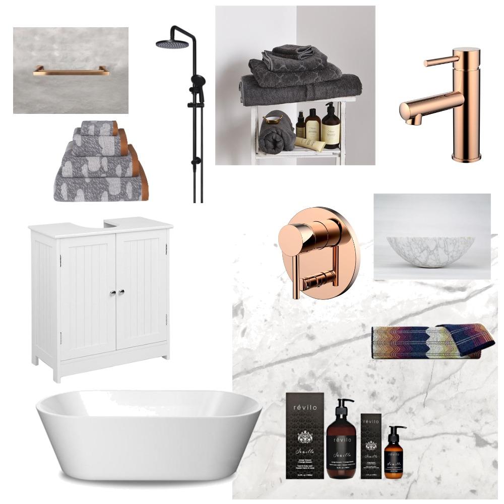 bronze & marble Mood Board by Yani on Style Sourcebook