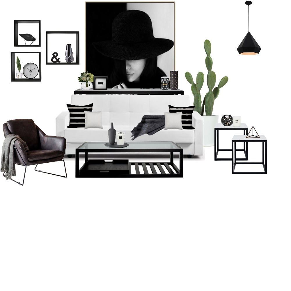 Achromatic Mood Board by Samantha on Style Sourcebook