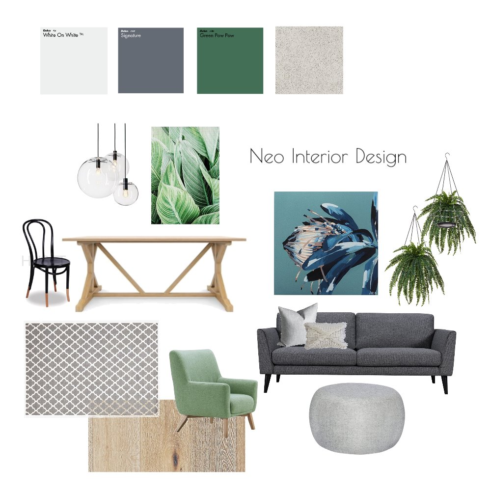 Inspirational Mood Board - Liron Mood Board by Neo Interior Design Perth on Style Sourcebook