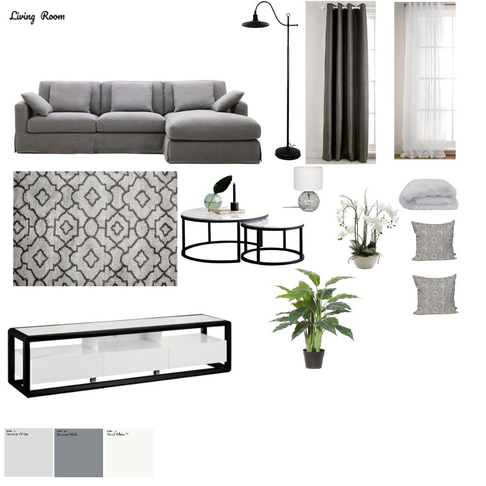 Living Room Mood Board by DesignbyAJ on Style Sourcebook