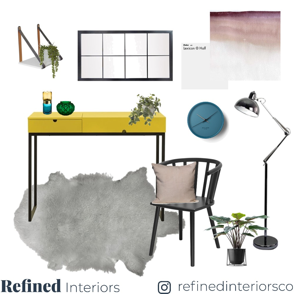 Office Mood Board by RefinedInteriors on Style Sourcebook