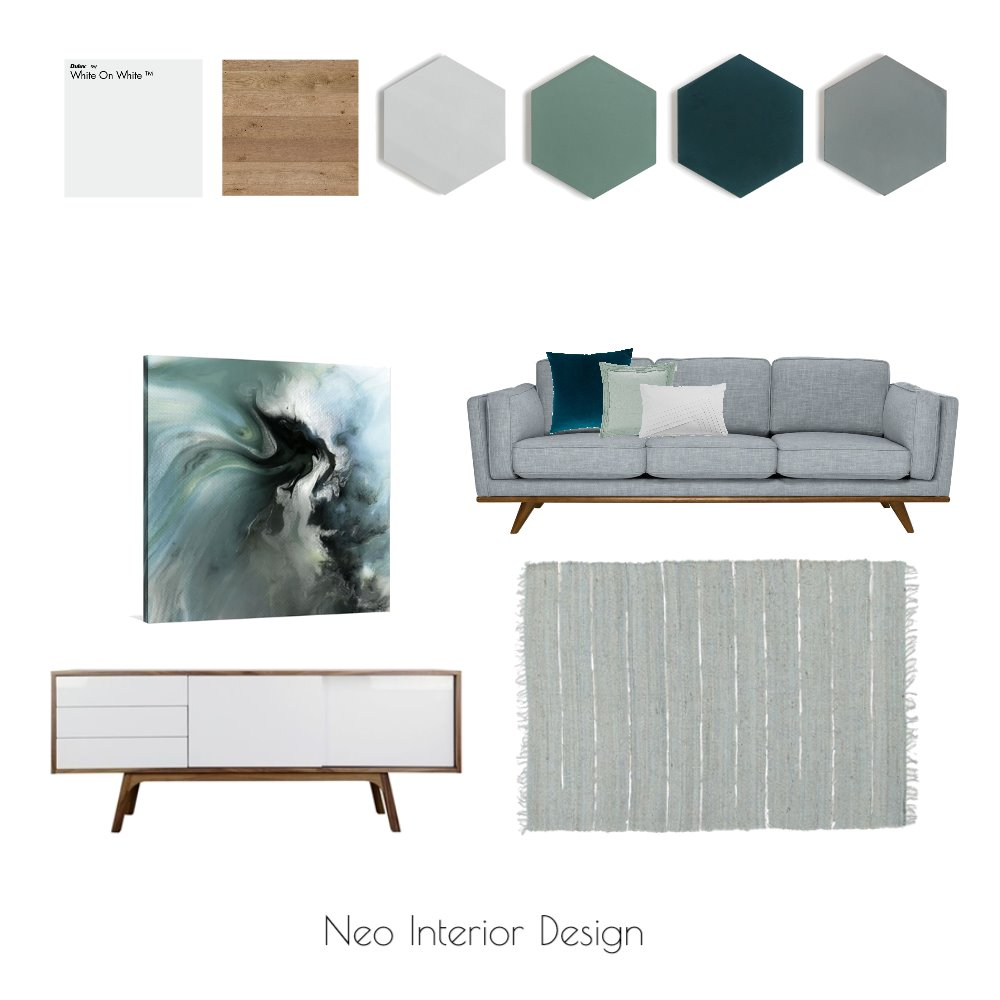 Wallace Colour Mood Board Mood Board by Neo Interior Design Perth on Style Sourcebook