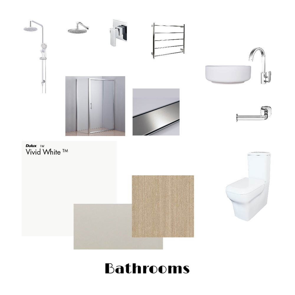 Campbell Residence - Bathroom Mood Board by Elvis on Style Sourcebook